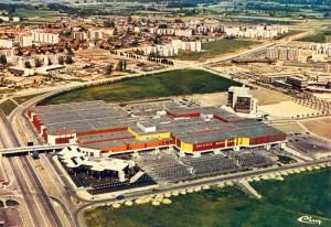 Le centre ville dans les années 1970