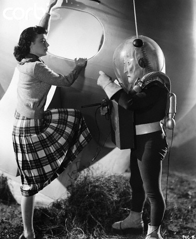 Margaret Field in The Man From Planet X