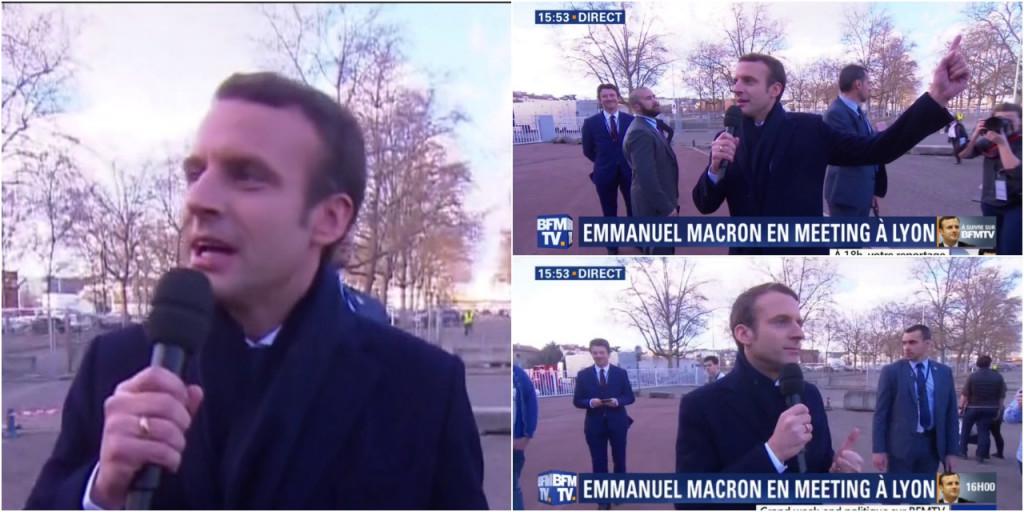 VIDEO-Vous-pourrez-dire-J-etais-la-Emmanuel-Macron-a-la-foule-bloquee-hors-de-son-meeting